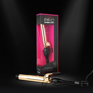 Pro Beauty Tools Curling Iron with packaging